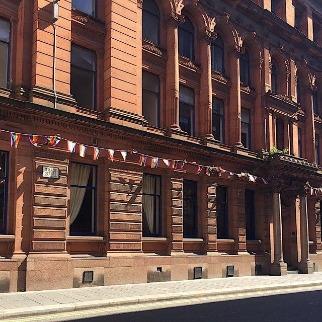 Red sandstone! Virginia House, Wilson Street, Glasgow
