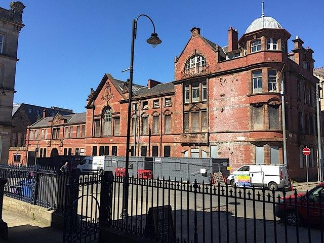 Former Glasgow District Court, Turnbull Street, Glasgow
