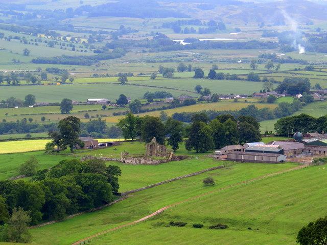 Cartington Castle Remains