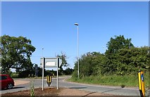 SP9065 : Roundabout on the A509 south of Wellingborough by David Howard