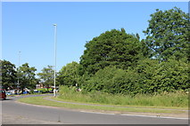 SP9062 : Junction on the A509, Wollaston by David Howard