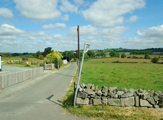 The Kilcoo GAC access road