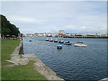SY6878 : Weymouth Quay, from Nothe Point by David Weston