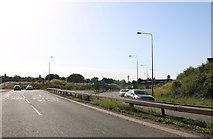 SP8865 : The A45, Wellingborough by David Howard