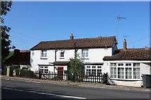 SP8874 : House on Wellingborough Road, Isham by David Howard