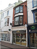 SY6778 : Shops on St Thomas Street, Weymouth by David Weston