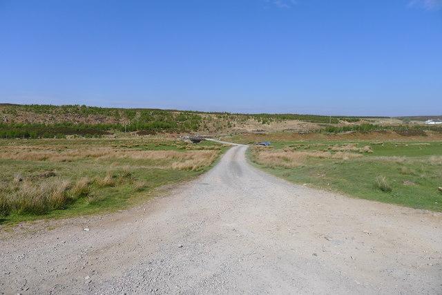 Track to Craggie Cottage