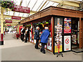 SE0641 : Tobacconist's Kiosk at Keighley Station by David Dixon