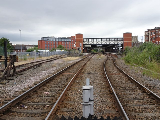 Grimsby Town railway station, Lincolnshire