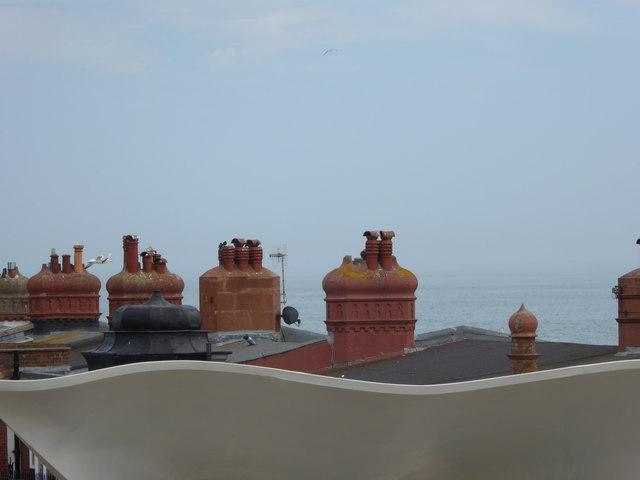 View from the balcony of the De La Warr Pavilion (2)