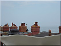 TQ7407 : View from the balcony of the De La Warr Pavilion (2) by Shazz