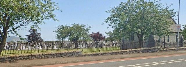 High density burials at Dowdallshill Community Cemetery, Dundalk