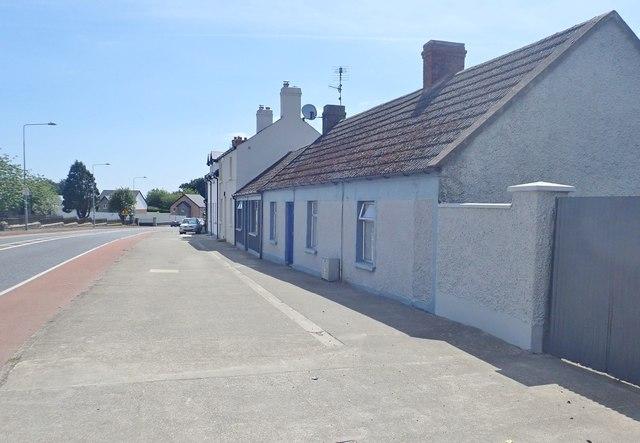 Cottages opposite Dowdallshill Cemetery, Dundalk