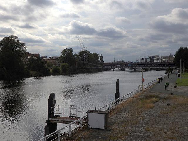 River Clyde and bridges, Glasgow