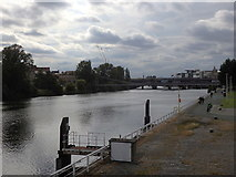 NS5964 : River Clyde and bridges, Glasgow by Rudi Winter