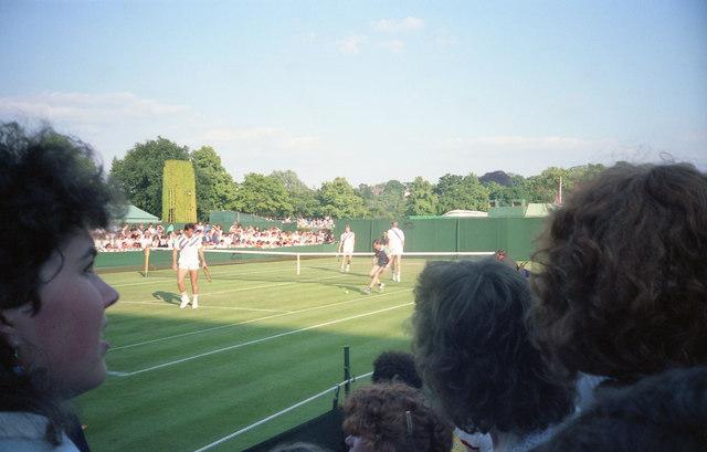Wimbledon 1988 - By Court 3