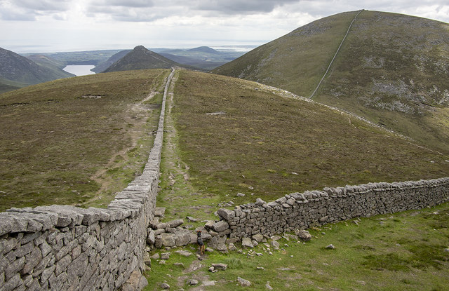 The Mourne Wall, Slieve Meelmore
