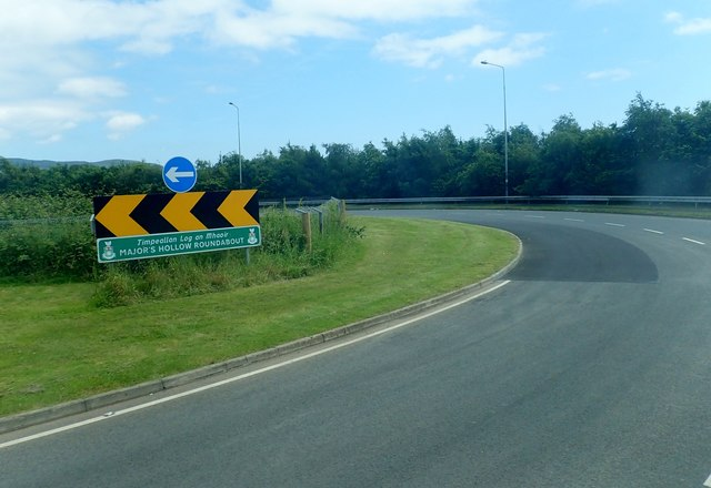 Major's Hollow Roundabout, north of Dundalk