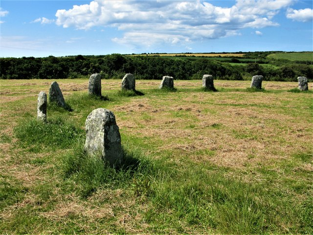 Part of the Merry Maidens Stone Circle