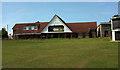 SX9065 : Cricket pavilion, Torre by Derek Harper