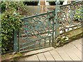 NS5566 : Cast iron gate, Gardner Street, Partick by Alan Murray-Rust