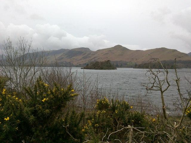 Looking Across Derwent Water