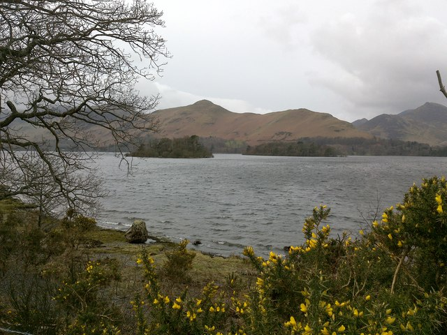 View Across Derwent Water, from Eastern Shore