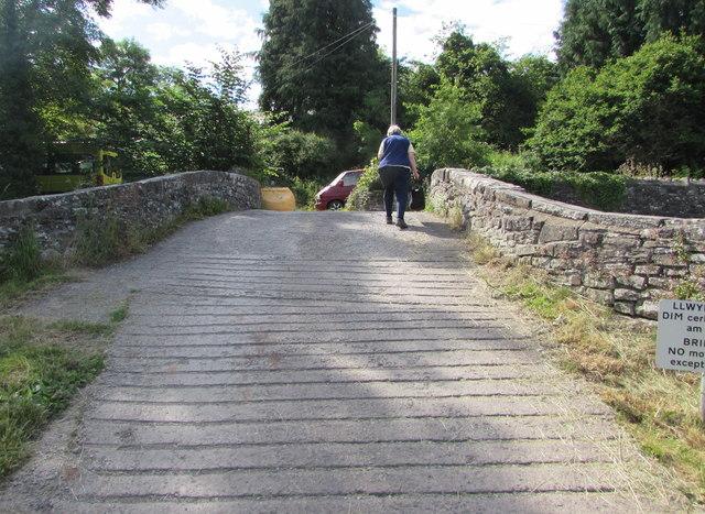 Across canal bridge 143, Talybont-on-Usk