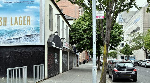 Nos 27 - 37 Linenhall Street, Belfast (July 2019)