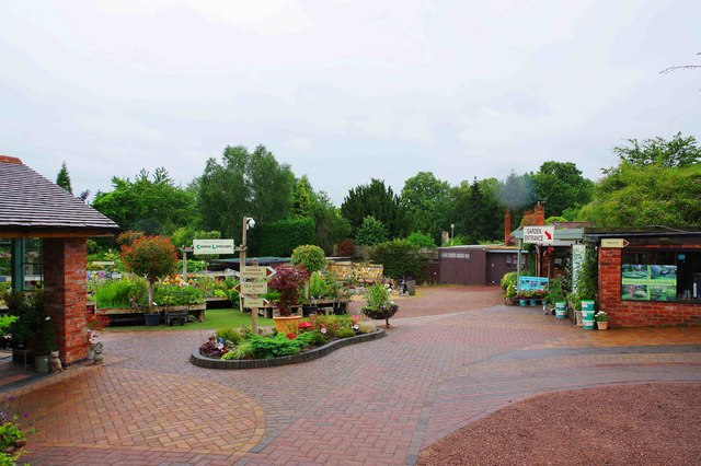 Whitlenge Gardens - garden centre & nursery, near Hartlebury, Worcs