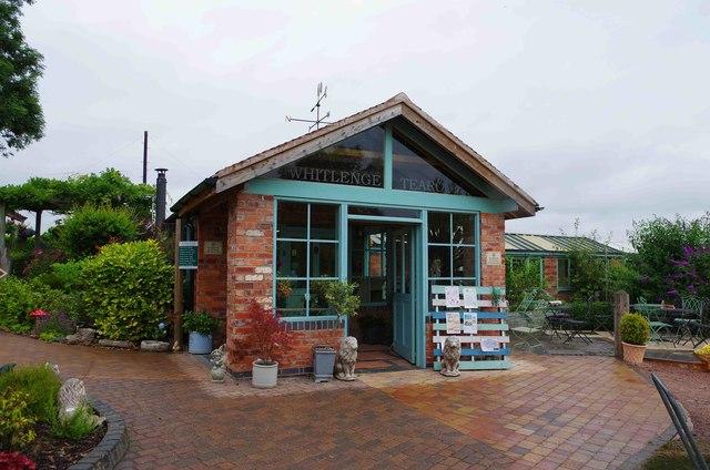 Whitlenge Gardens - tearoom, near Hartlebury, Worcs