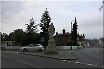 SU1660 : The back view of Pewsey monument by David Howard