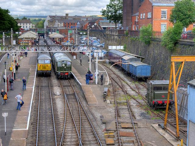 East Lancashire Railway 2019 Summer Diesel Gala, Bolton Street Station