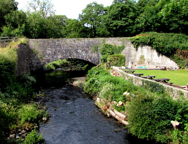 Grade II Listed aqueduct, Talybont-on-Usk