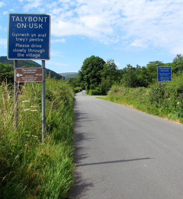 Talybont-on-Usk - Please drive slowly through the village