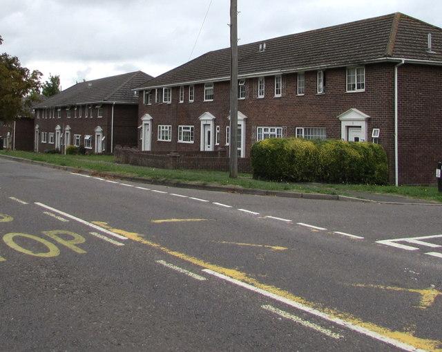 Littlemoor Road houses east of Windsor Road, Weymouth