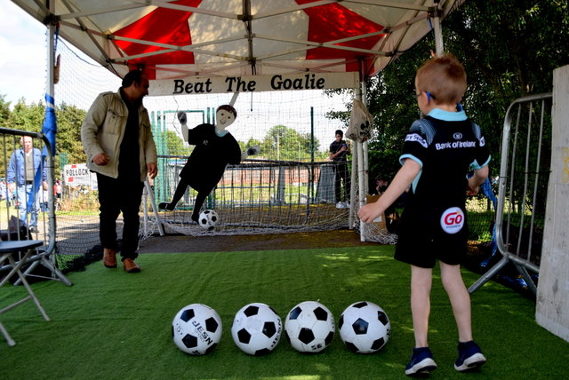 Beat the goalie - 179th Omagh Annual Agricultural Show 2019