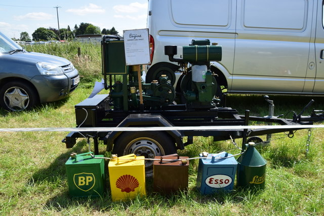 Stationary engine - 179th Omagh Annual Agricultural Show 2019