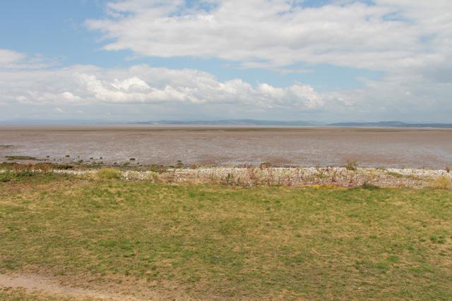Looking across Warton Sands