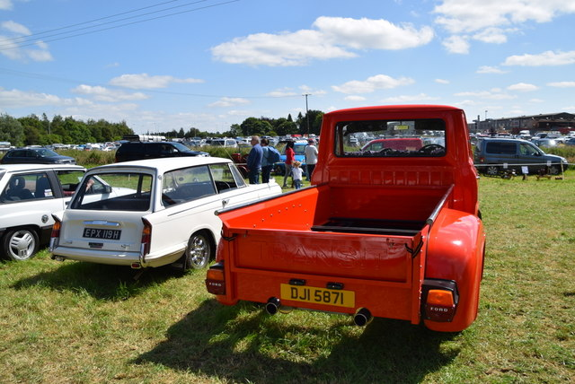 Ford Transit pickup - 179th Omagh Annual Agricultural Show 2019