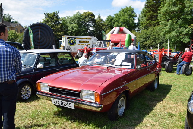 Ford Capri - 179th Omagh Annual Agricultural Show 2019