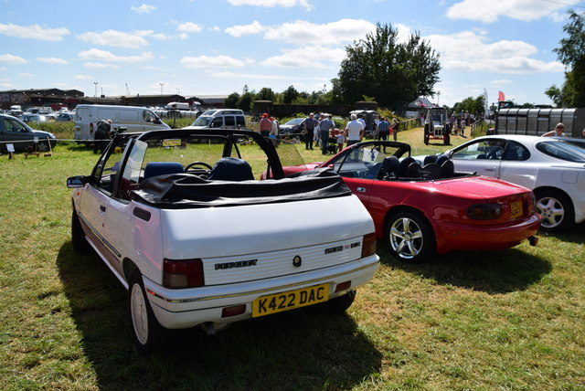 Peugeot 205 Convertible - 179th Omagh Annual Agricultural Show 2019
