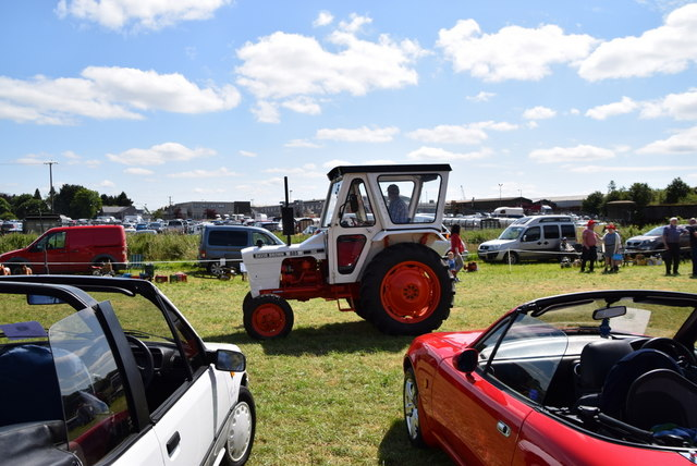 David Brown 885 tractor - 179th Omagh Annual Agricultural Show 2019