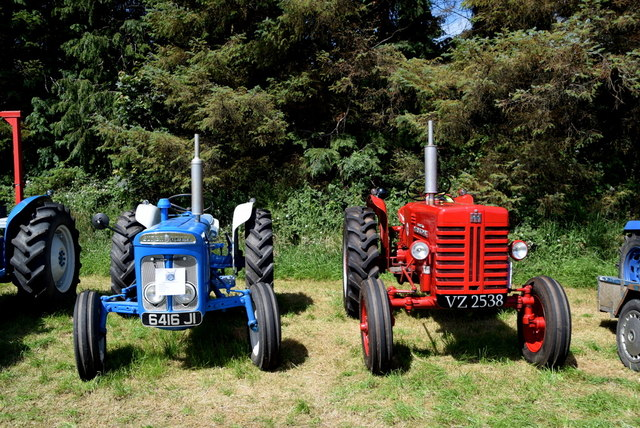 Tractors - 179th Omagh Annual Agricultural Show 2019