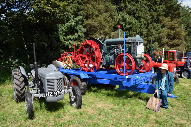 Ferguson tractors - 179th Omagh Annual Agricultural Show 2019