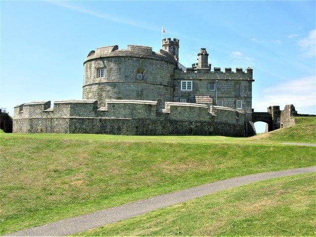 Tudor Gun Tower, Pendennis Castle, Falmouth