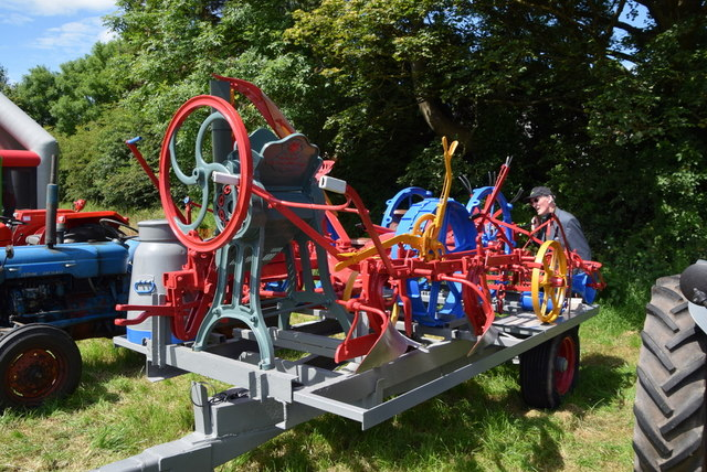 Old farm machinery - 179th Omagh Annual Agricultural Show 2019