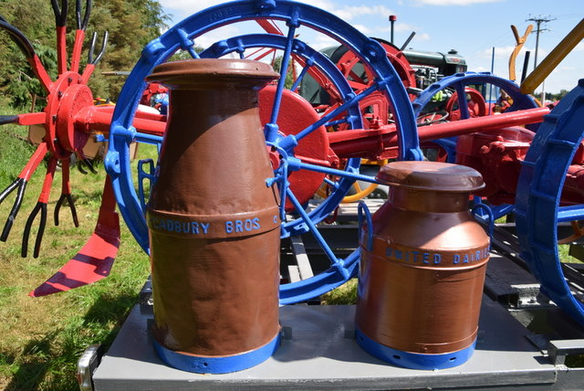 Creamery cans - 179th Omagh Annual Agricultural Show 2019