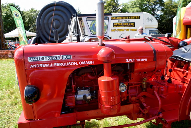 Tractor detail - 179th Omagh Annual Agricultural Show 2019
