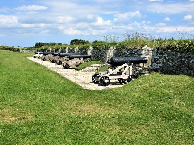 Nine Gun Battery, Pendennis Castle, Falmouth